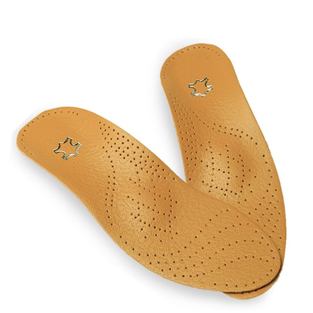 Leather Arch Support Insoles