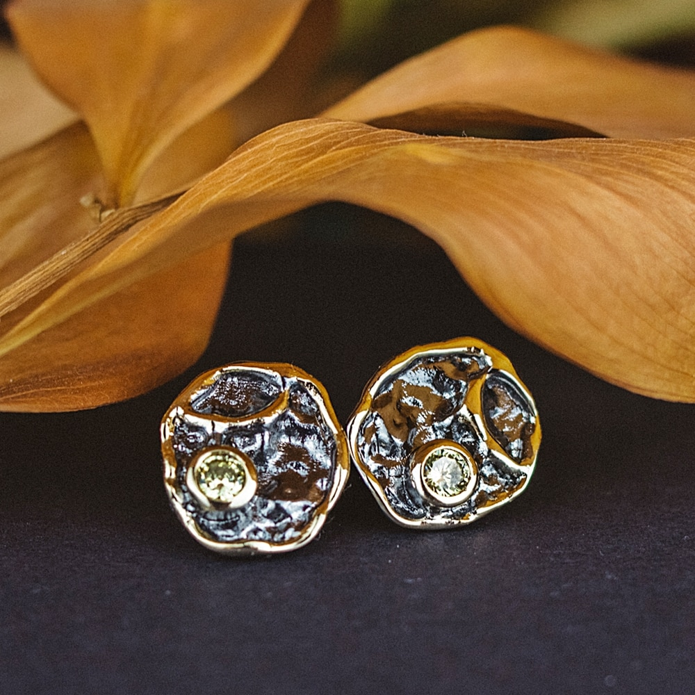 New Arrival Geometric Designed Earrings Rings Set For Women
